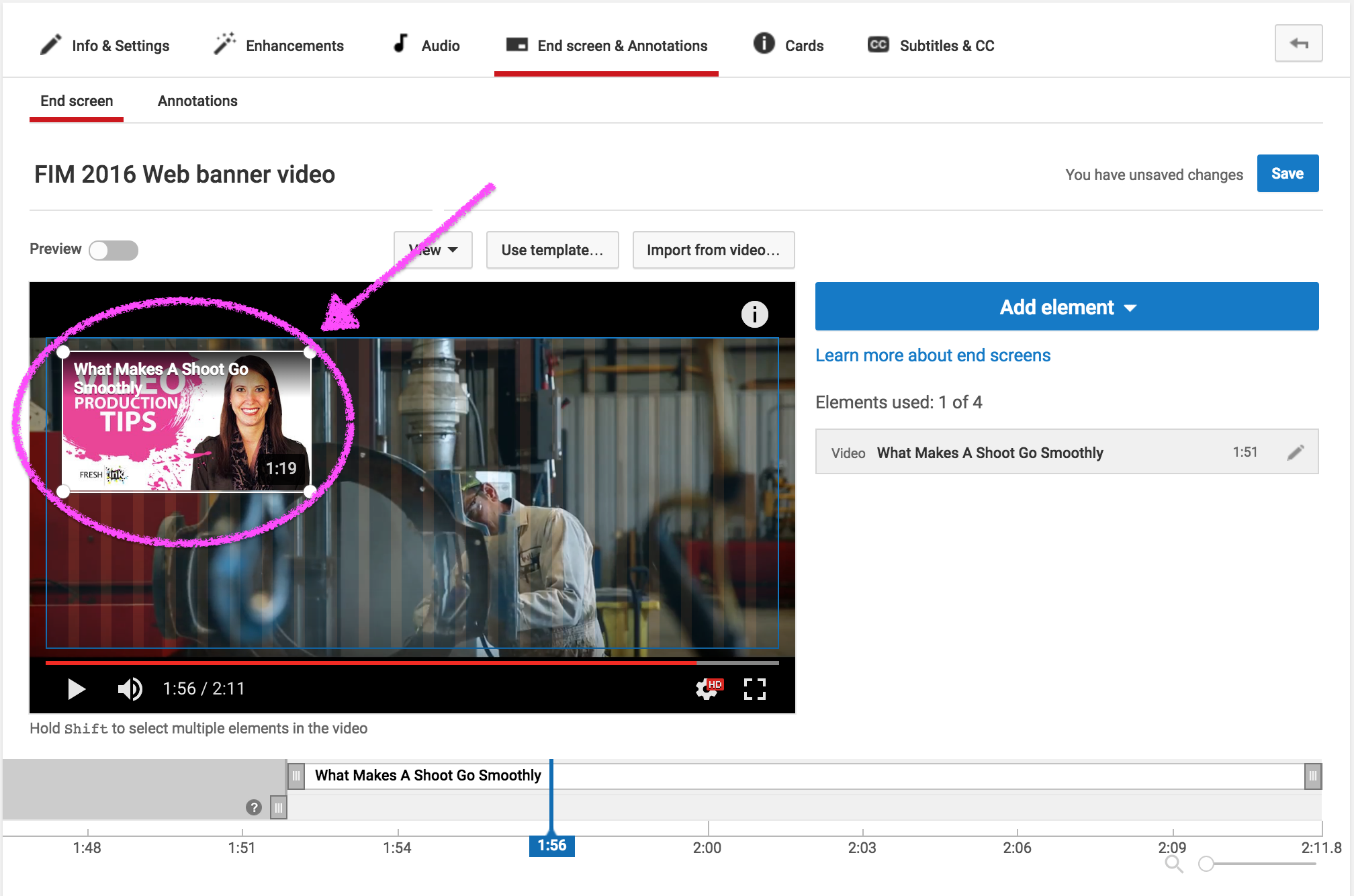How To Create YouTube End Screens for Your Videos - Fresh